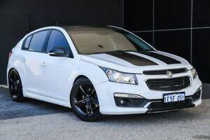 2015 Holden Cruze JH Series II MY15 SRi-V White 6 Speed Sports Automatic Hatchback Wangara Wanneroo Area Preview