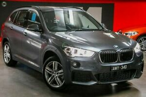 2018 BMW X1 F48 sDrive18i D-CT Grey 7 Speed Sports Automatic Dual Clutch Wagon South Melbourne Port Phillip Preview