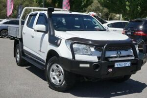 2015 Holden Colorado RG MY15 LS Crew Cab White 6 Speed Sports Automatic Utility Phillip Woden Valley Preview