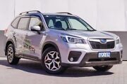 2018 Subaru Forester S5 MY19 2.5i CVT AWD Silver 7 Speed Constant Variable Wagon Maddington Gosnells Area Preview