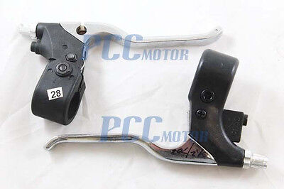 Set of Two Brake Levers Lever 47cc 49cc Mini Pocket Dirt Bike ATV H LV28