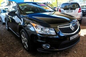 2011 Holden Cruze JH Series II MY11 SRi-V Black 6 Speed Sports Automatic Sedan Minchinbury Blacktown Area Preview