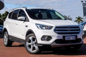 2018 Ford Escape ZG 2018.00MY Trend White 6 Speed Sports Automatic SUV Wangara Wanneroo Area Preview