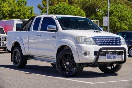 2010 Toyota Hilux White Manual Utility St James Victoria Park Area Preview