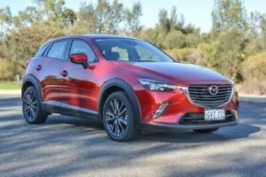 2018 Mazda CX-3 DK4W7A sTouring SKYACTIV-Drive i-ACTIV AWD Red 6 Speed Sports Automatic Wagon Cannington Canning Area Preview