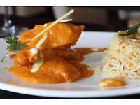 Waiter / waitress / hostess for Contemporary Indian Restaurant
