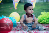 $199 | CAKE SMASH PHOTOGRAPHY BABY & FAMILY - IN HOME / STUDIO