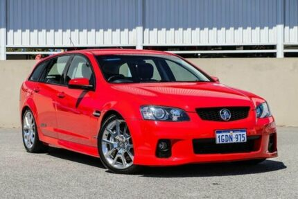 2010 Holden Commodore VE II SS V Sportwagon Red Manual Wagon Cannington Canning Area Preview