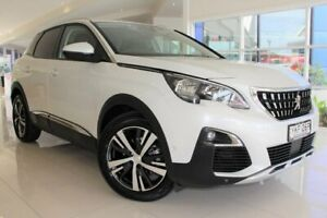 2019 Peugeot 3008 P84 MY19 Allure SUV White 6 Speed Sports Automatic Hatchback Port Macquarie Port Macquarie City Preview