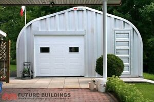 Quonset shop garage shed steel building cabin