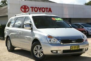 2014 Kia Grand Carnival VQ MY14 SI Silver 6 Speed Automatic Wagon Wyong Wyong Area Preview