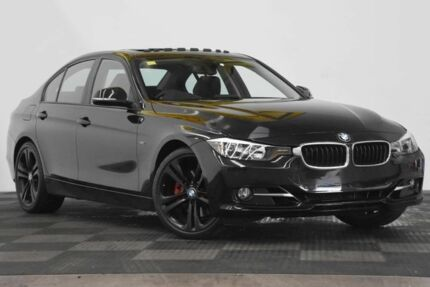 2012 BMW 328I F30 Black 8 Speed Sports Automatic Sedan