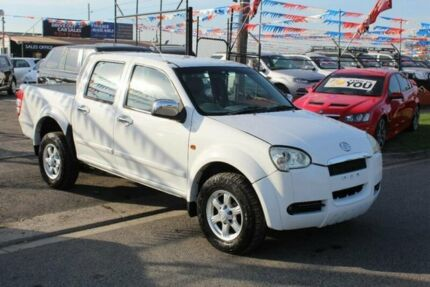 2010 Great Wall V240 K2 (4x2) White 5 Speed Manual Dual Cab Utility Brooklyn Brimbank Area Preview