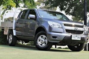 2014 Holden Colorado RG MY14 LX Crew Cab Grey 6 Speed Sports Automatic Utility