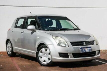 2010 Suzuki Swift RS415 Silver 5 Speed Manual Hatchback Maddington Gosnells Area Preview