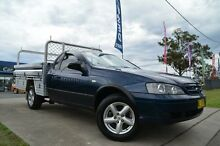 2004 Ford Falcon BA RTV Blue 4 Speed Auto Seq Sportshift Cab Chassis Mulgrave Hawkesbury Area Preview