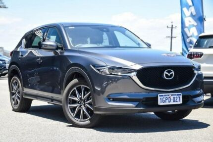 2018 Mazda CX-5 KF4W2A GT SKYACTIV-Drive i-ACTIV AWD Grey 6 Speed Sports Automatic Wagon Myaree Melville Area Preview