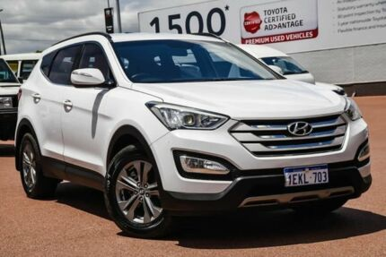 2014 Hyundai Santa Fe DM MY14 Active White 6 Speed Sports Automatic Wagon Balcatta Stirling Area Preview