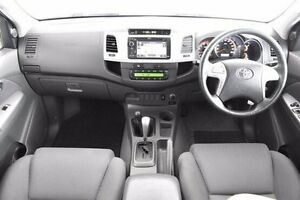 2013 Toyota Hilux KUN26R MY12 SR5 Double Cab 4 Speed Automatic Utility Pakenham Cardinia Area Preview