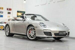 2008 Porsche 911 997 MY09 CARRERA 4 S SERIES II GT Silver 5 Speed Tiptronic Cabriolet Port Melbourne Port Phillip Preview