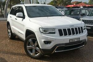 2015 Jeep Grand Cherokee WK MY15 Limited Bright White 8 Speed Sports Automatic Wagon Greenacre Bankstown Area Preview