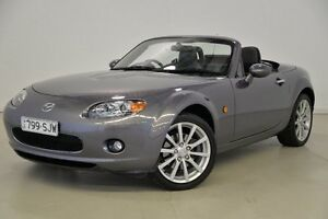 2007 Mazda MX-5 NC30F1 MY07 Roadster Coupe Grey 6 Speed Sports Automatic Hardtop Mansfield Brisbane South East Preview