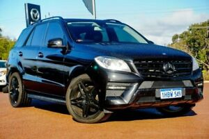 2014 Mercedes-Benz M-Class W166 ML250 BlueTEC 7G-Tronic + Black 7 Speed Sports Automatic Wagon Wangara Wanneroo Area Preview