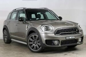 2019 Mini Countryman F60 Cooper S E Steptronic ALL4 Melting Silver 6 Speed Sports Automatic Wagon Darlinghurst Inner Sydney Preview