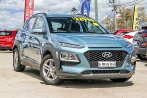 2018 Hyundai Kona OS MY18 Active 2WD Blue 6 Speed Sports Automatic Wagon Gympie Gympie Area Preview