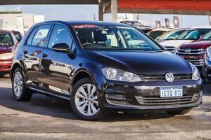 2015 Volkswagen Golf AU MY15 90 TSI Comfortline Black 6 Speed Manual Hatchback