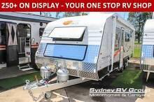 C589 Nova Family Escape 19ft Quality Van with Double Bunk Beds Penrith Penrith Area Preview
