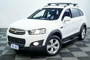 2013 Holden Captiva CG MY13 7 AWD CX White 6 Speed Sports Automatic Wagon Edgewater Joondalup Area Preview