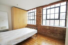 Stunning loft style apartment situated within a period conversion with large communal roof terrace