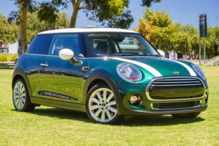 2018 Mini Hatch F56 Cooper Green 6 Speed Automatic Hatchback Burswood Victoria Park Area Preview