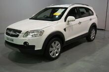 2007 Holden Captiva CG MY08 LX AWD White 5 Speed Sports Automatic Wagon Old Guildford Fairfield Area Preview
