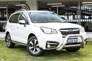 2018 Subaru Forester S4 MY18 2.5i-L CVT AWD White 6 Speed Constant Variable Wagon Victoria Park Victoria Park Area Preview