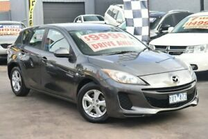 2005 Mazda 3 BK10F1 Neo Grey 4 Speed Sports Automatic Hatchback Watsonia Banyule Area Preview
