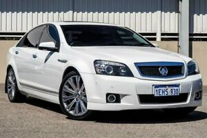 2013 Holden Caprice WN V White 6 Speed Auto Active Sequential Sedan Cannington Canning Area Preview