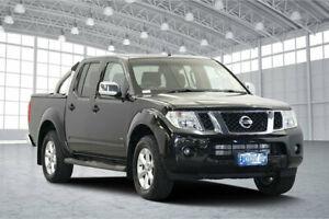 2012 Nissan Navara D40 S5 MY12 ST-X Black 7 Speed Sports Automatic Utility Victoria Park Victoria Park Area Preview