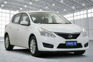 2015 Nissan Pulsar C12 Series 2 ST White 1 Speed Constant Variable Hatchback Victoria Park Victoria Park Area Preview