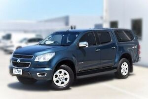2014 Holden Colorado RG MY14 LTZ Crew Cab Blue 6 Speed Manual Utility Pakenham Cardinia Area Preview