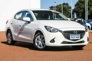 2016 Mazda 2 DL2SAA Neo SKYACTIV-Drive White 6 Speed Sports Automatic Sedan Rockingham Rockingham Area Preview