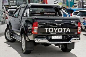 2014 Toyota Hilux KUN26R MY14 SR5 Double Cab Black 5 Speed Manual Utility