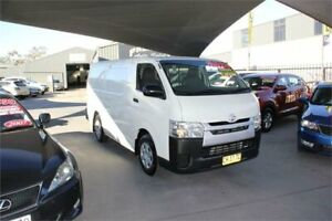 2016 Toyota HiAce KDH201R MY16 LWB White 4 Speed Automatic Van Mitchell Gungahlin Area Preview