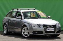 2008 Audi A4 B8 8K Avant Multitronic Grey 8 Speed Constant Variable Wagon Ringwood East Maroondah Area Preview