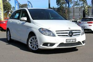 2012 Mercedes-Benz B180 W246 BlueEFFICIENCY DCT White 7 Speed Sports Automatic Dual Clutch Hatchback Condell Park Bankstown Area Preview