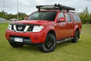 2011 Nissan Navara D40 ST (4x4) Red 5 Speed Automatic Dual Cab Pick-up Rockingham Rockingham Area Preview