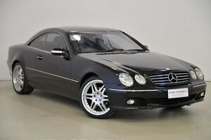 2003 Mercedes-Benz CL500 C215 C215 Black 5 Speed Automatic Coupe Mansfield Brisbane South East Preview