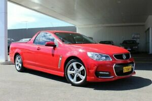 2015 Holden Ute VF II SV6 Red 6 Speed Manual Utility Belmore Canterbury Area Preview