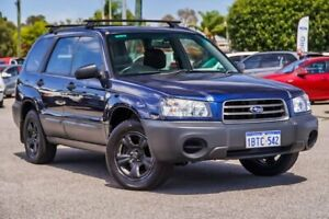 2004 Subaru Forester 79V MY04 X AWD Blue 4 Speed Automatic Wagon